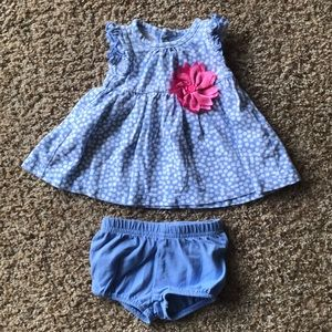 NB baby girl outfit